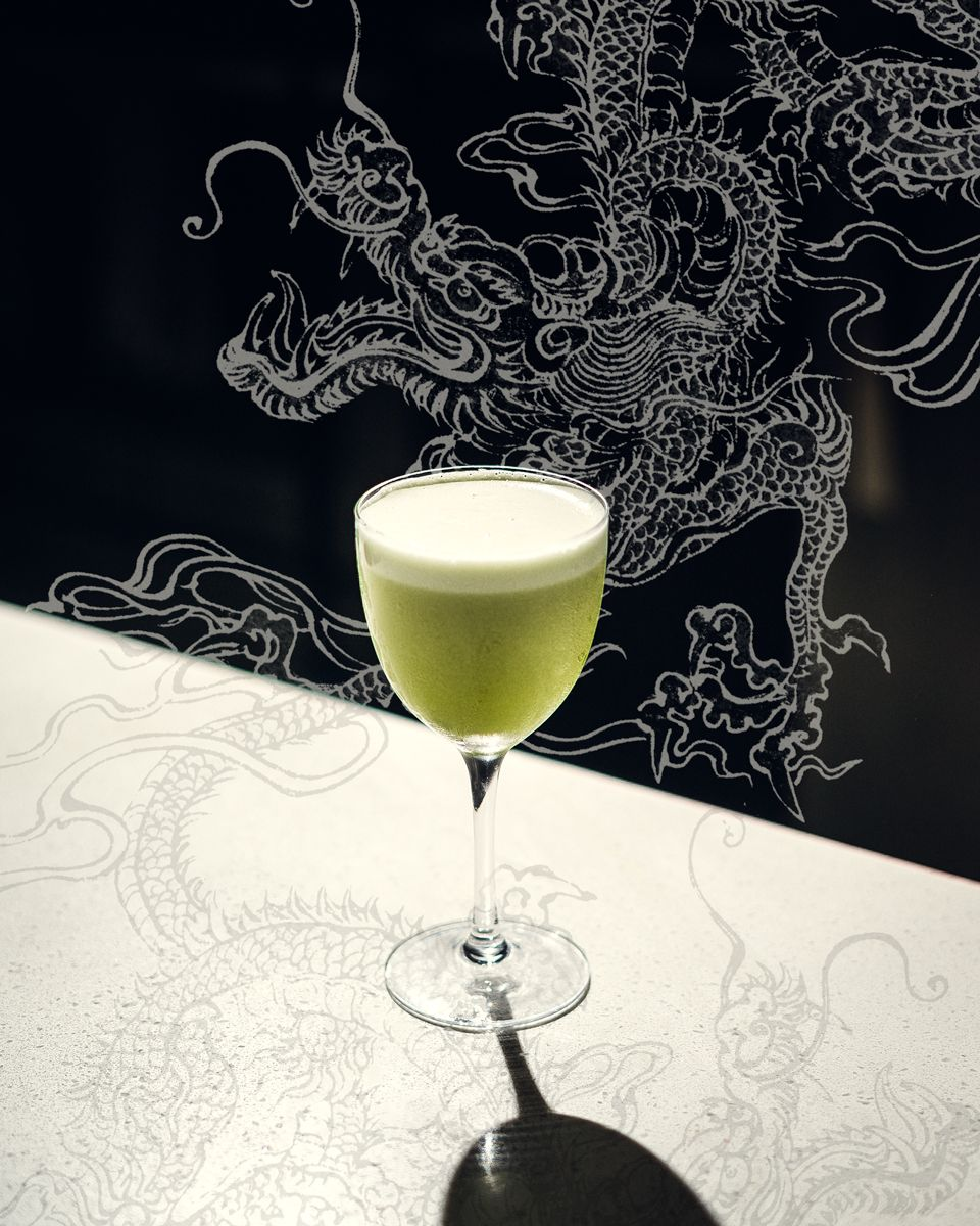 Dragons Last Word Cocktail