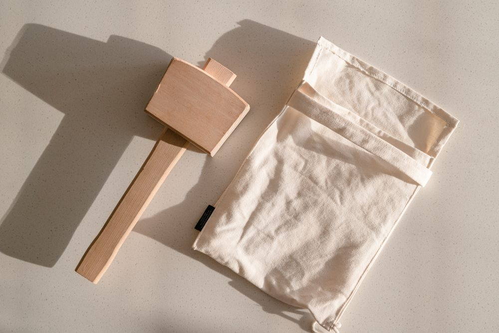 lewis bag and mallet