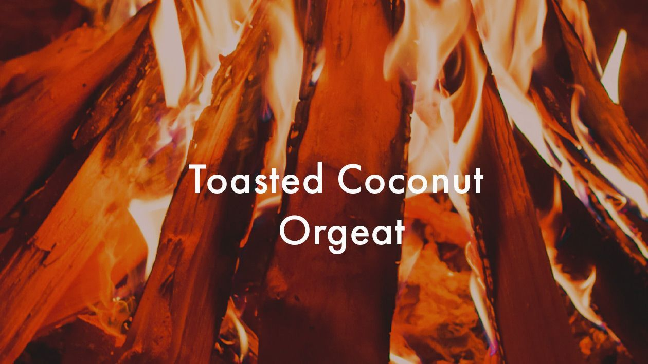toasted coconut syrup recipe